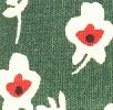 ירוק פרחים