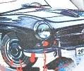 קבקב גלישה אצבע- Sea Wave נוער/גבר-מכוניות לבן