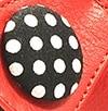 אדום מוברש 310+שחור נקודות 72