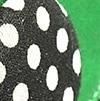 ירוק מוברש + שחור נקודות