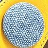 צהוב מוברש + ג'ינס בהיר